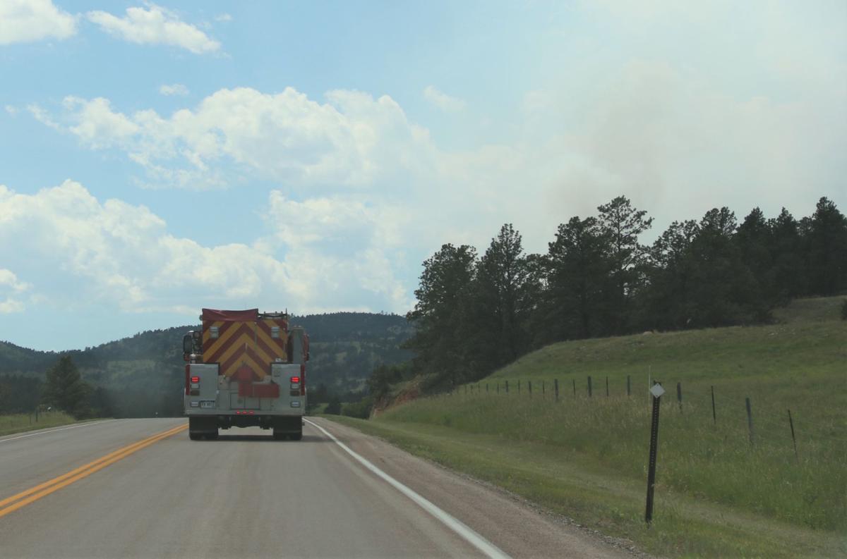 Heading toward the fire