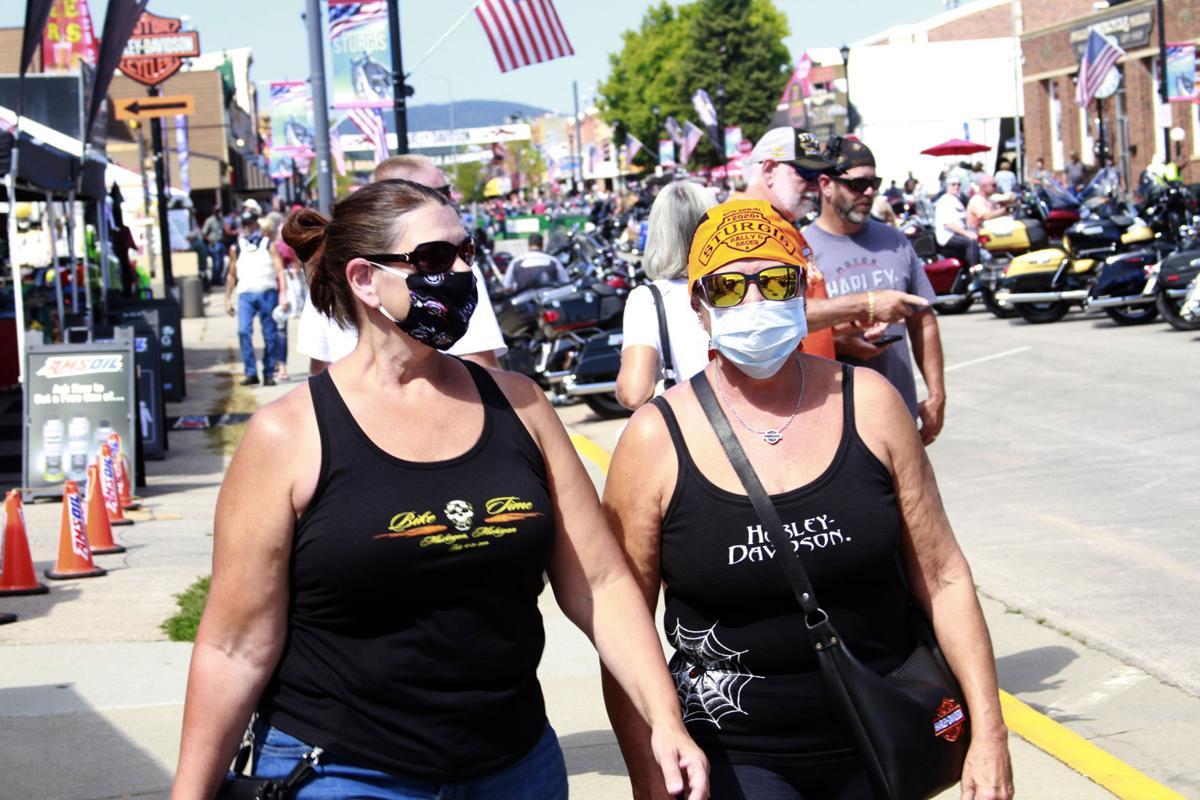 Virus Outbreak Sturgis Rally