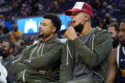 Nuggets Warriors Basketball