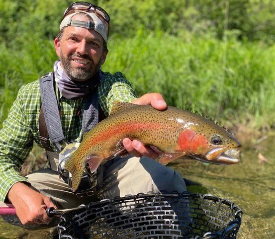 OUTDOORS | Trump Jr. fishes for trout on Rapid Creek