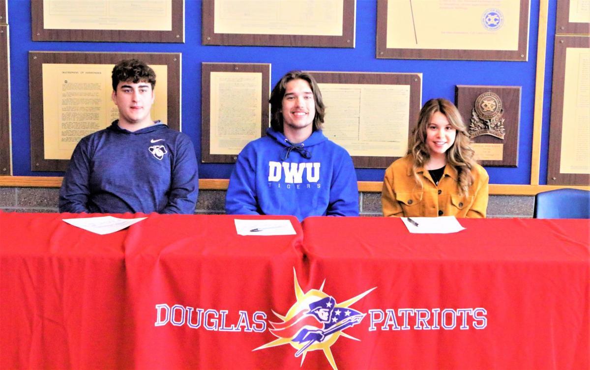Douglas signees