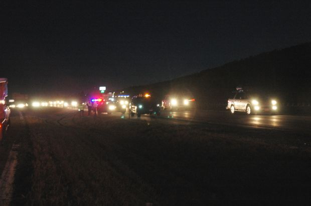 three injured in roll over accident on i 90 sturgis. Black Bedroom Furniture Sets. Home Design Ideas