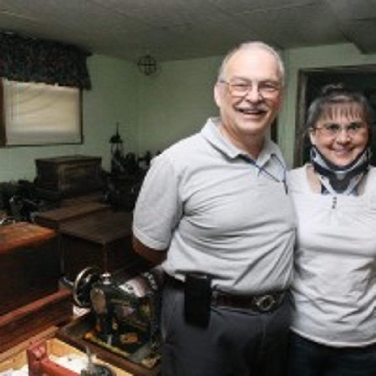 Sew many machines in couple's collection   Features