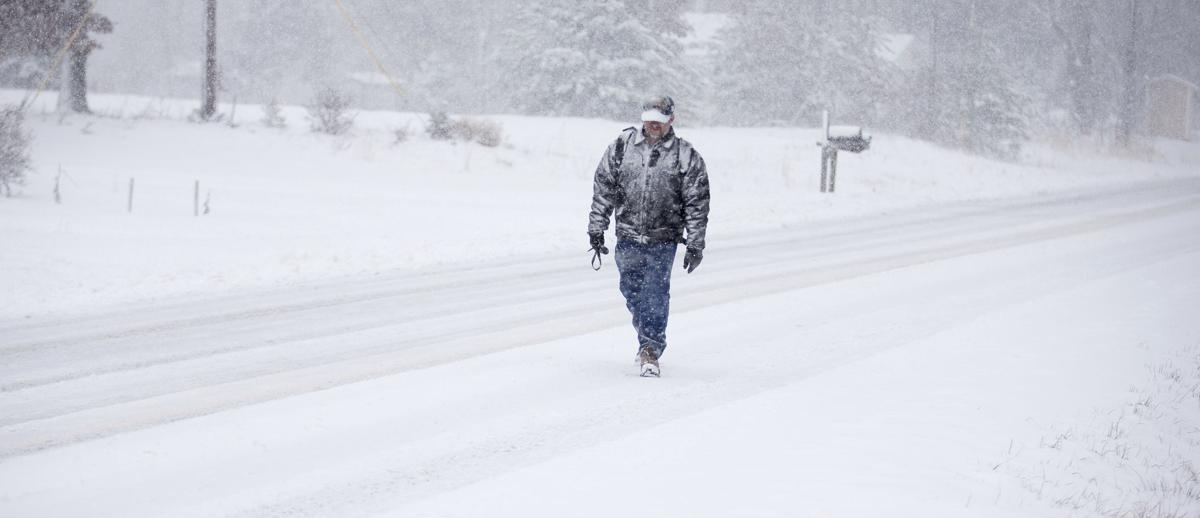 Photos: Across the South, it's snow, ice and record-breaking cold    National   rapidcityjournal.com
