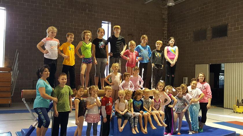 SHCRI gymnastics