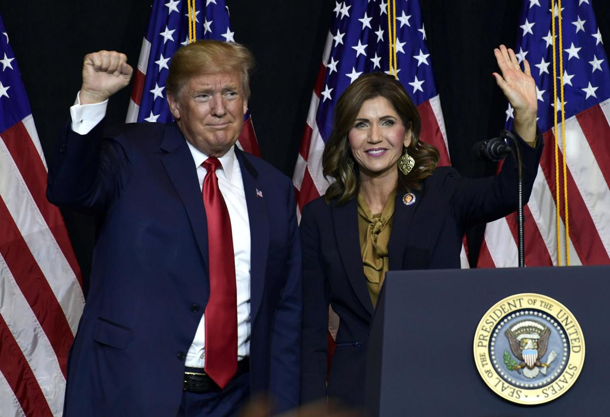 Governor Noem and Trump