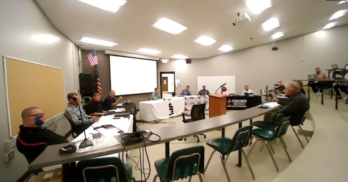 Meade School District Board of Education Zoom meeting