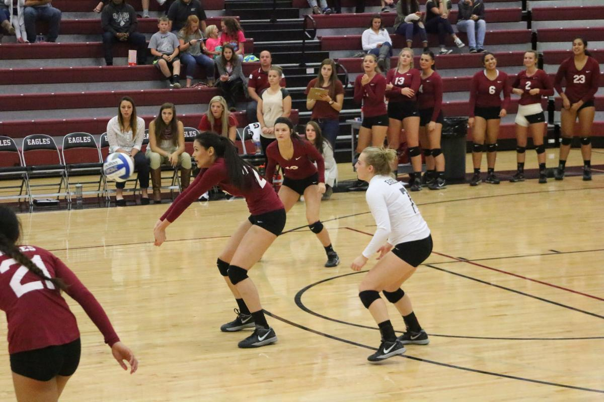 Eagles Volleyball Team Begins Fall Workouts With Confidence