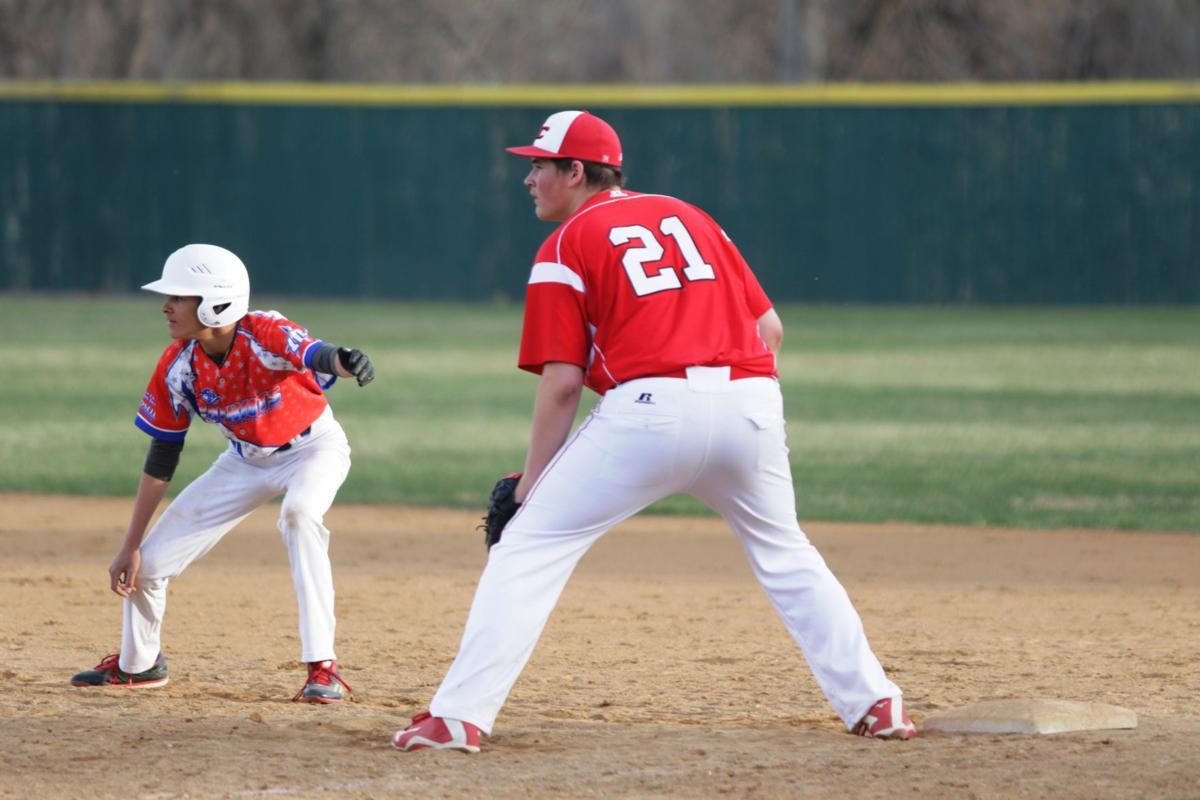 Baseball leading off