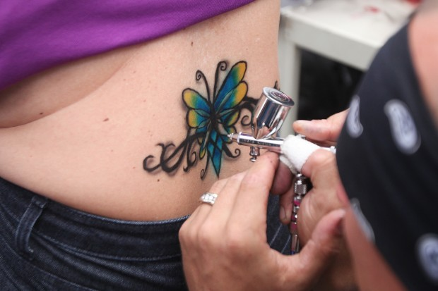 Body Artists Break Out The Brushes At Sturgis Rally News Rapidcityjournal Com