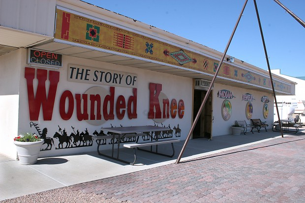 Fire Totals Wounded Knee Museum In Wall