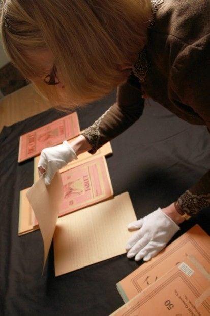 Pioneer Girl manuscript