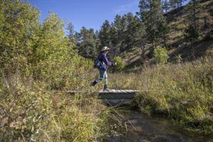 111-mile Centennial Trail hike celebrates woman's journey to walk again