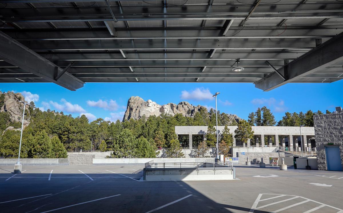 Thomas Jefferson Solar Canopy
