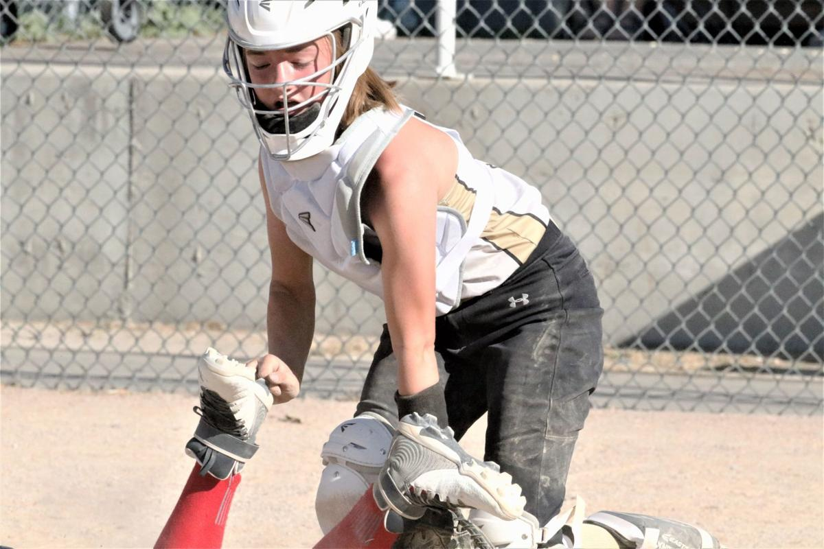 Softball Defenders catcher (2)