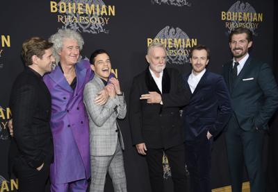 "APTOPIX NY Premiere of ""Bohemian Rhapsody"""