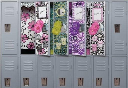 Decorations make school locker 'a