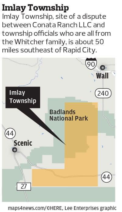 Imlay Township map