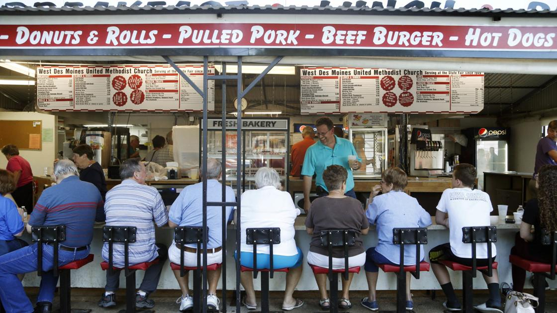 Church continues tradition of food stands at Iowa State Fair