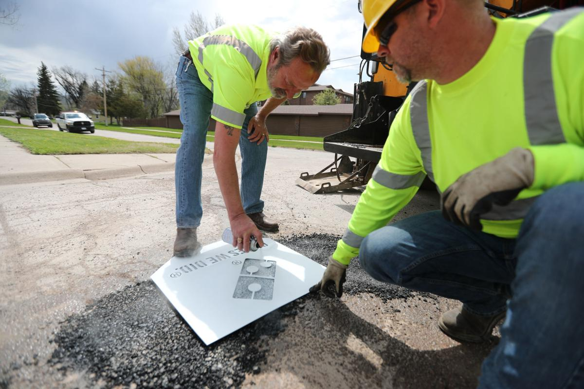 Potholes in Rapid City
