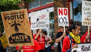Judge dismisses final charge against South Dakota man in pipeline protest