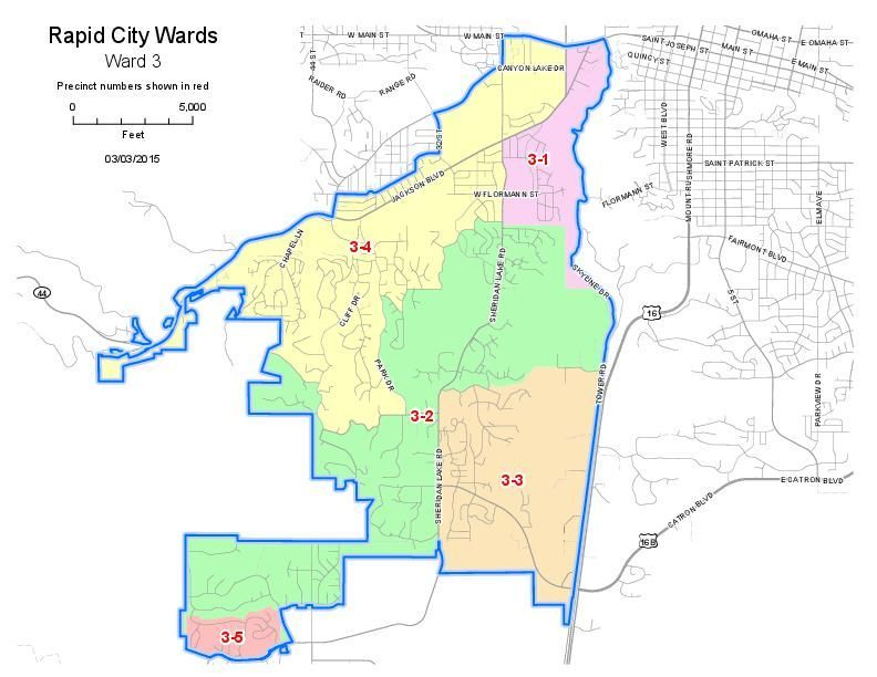 Ward 3 Map Rapidcityjournal Com