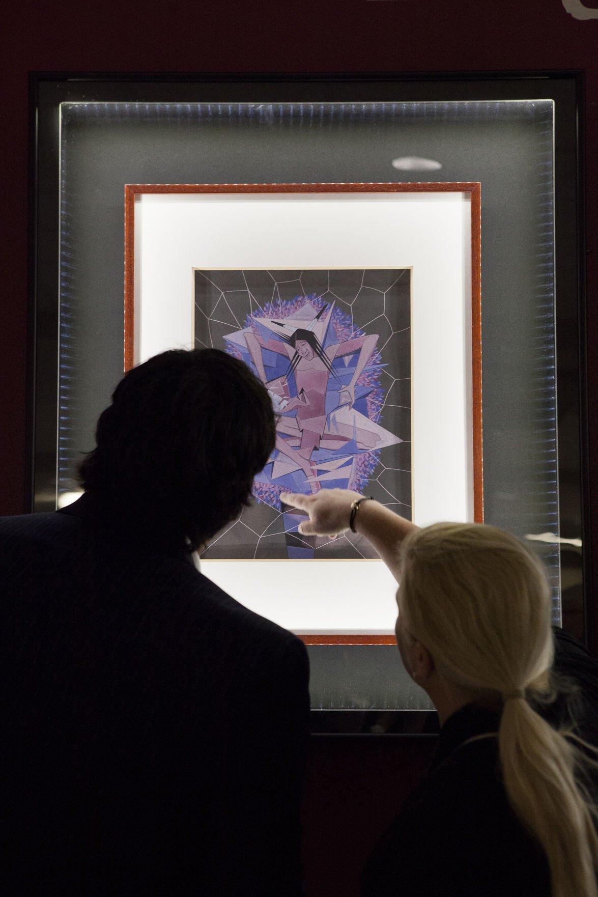 South dakota meade county howes - Ruth Brennan Exhibit Celebrates 100th Anniversary Of Oscar Howe S Birth