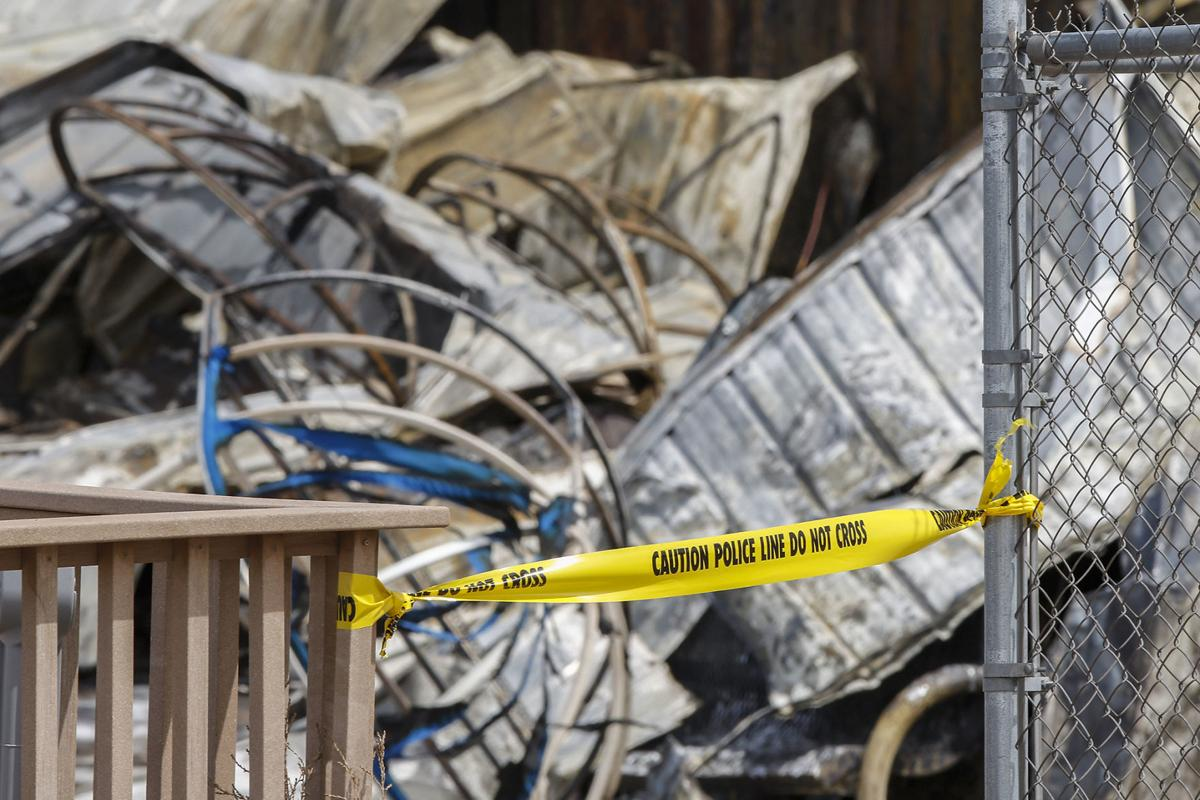 Investigators comb through rubble of Box Elder ammo plant | Local ...