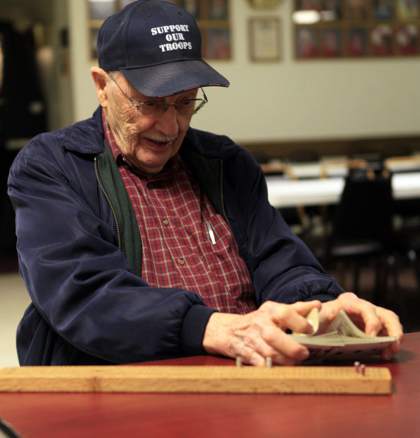Local cribbage club players keep ancient card game alive