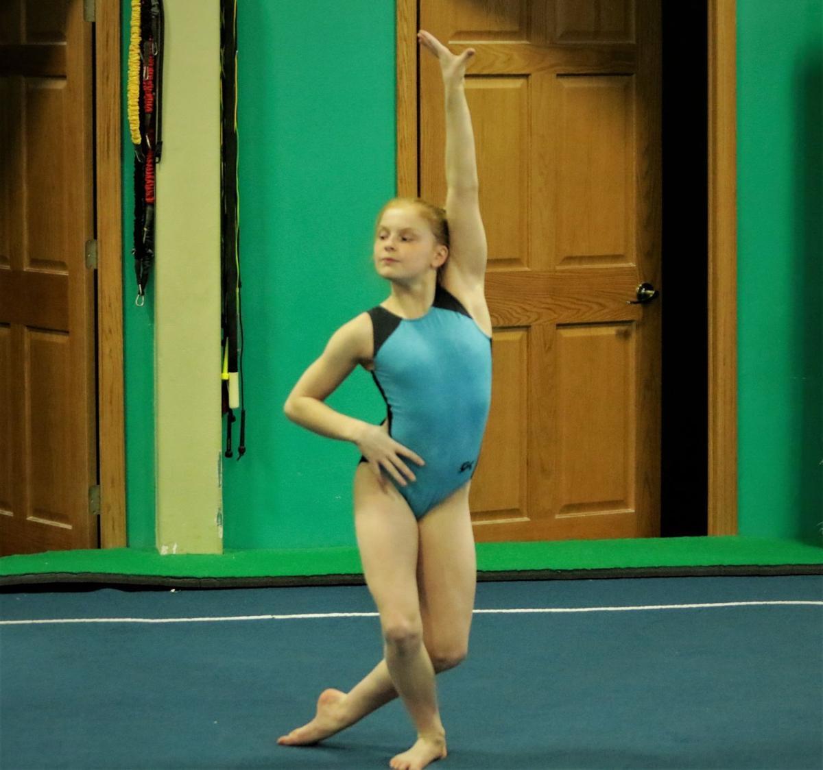 Ruthie Floor exercise