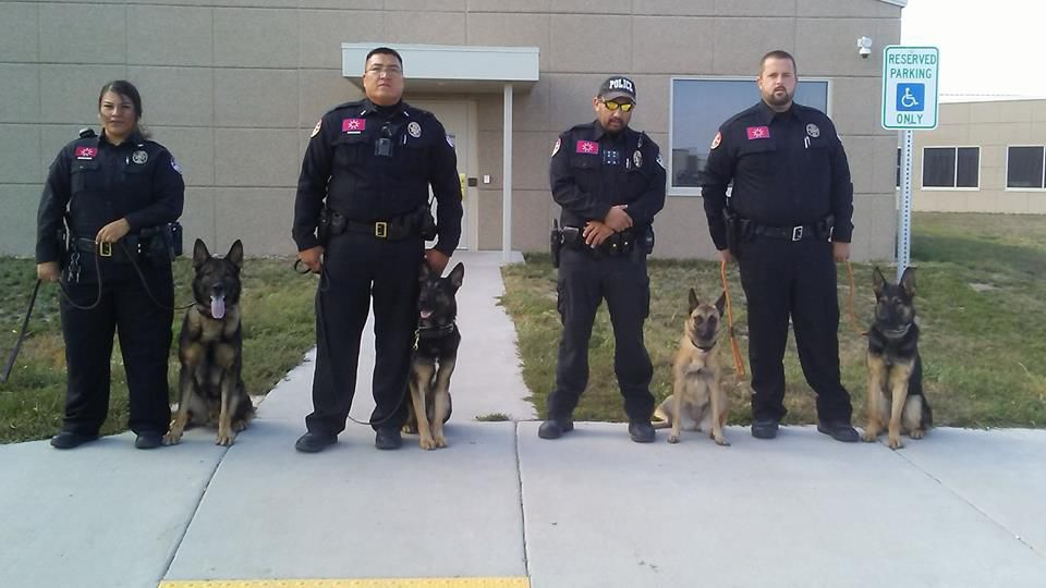 Oglala Sioux Tribe Department of Public Safety K-9 teams