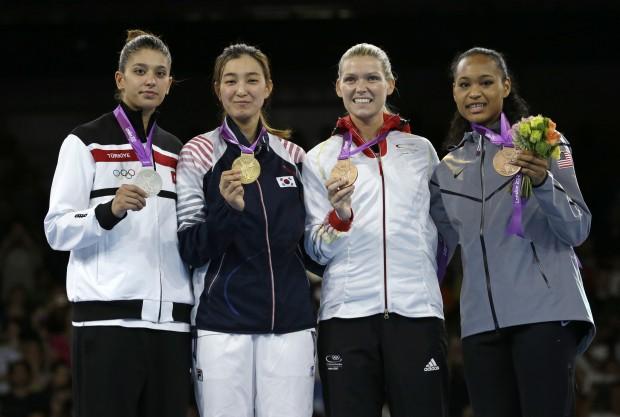 London Olympics Taekwondo Women