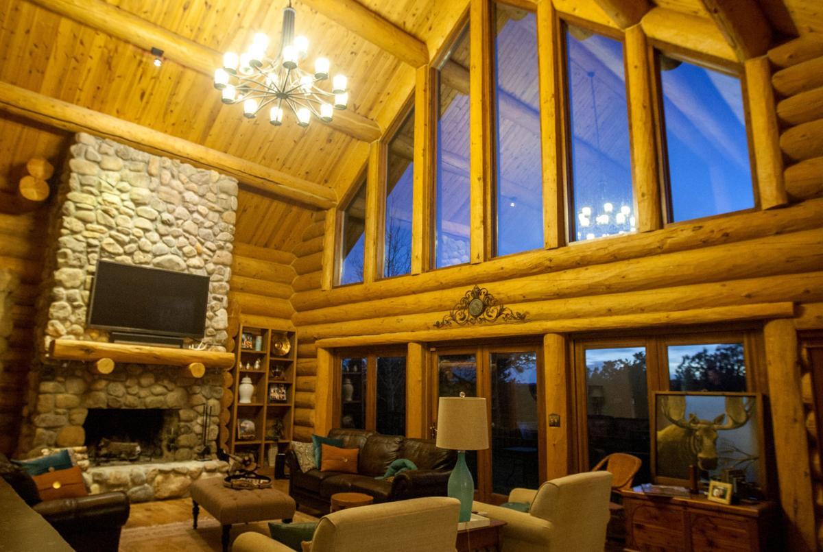 Japanese man builds new life and log homes in the black for The living room channel 10 tonight