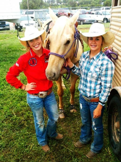 High School Rodeo Engesser Sisters Open In Style Sports