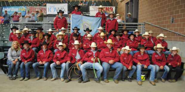 State Junior High Rodeo Team Competes At National Finals