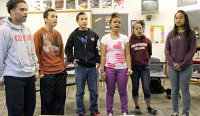 Marshallese Students Sing