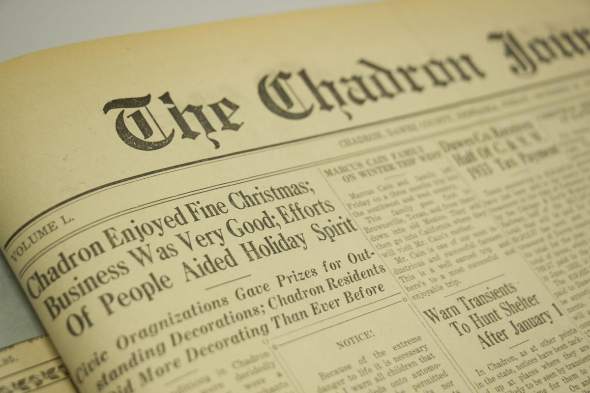 The Chadron Journal - December 29, 1933