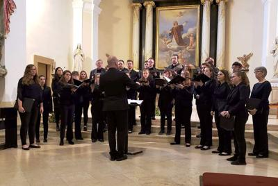 BHSU Choir in Europe