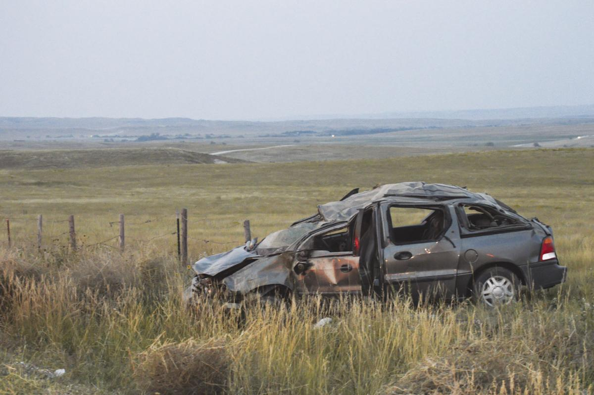 Slim Buttes Accident