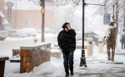 Second straight day of snow in Rapid City