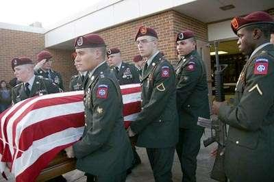 South Dakotans come together to mourn fallen soldier