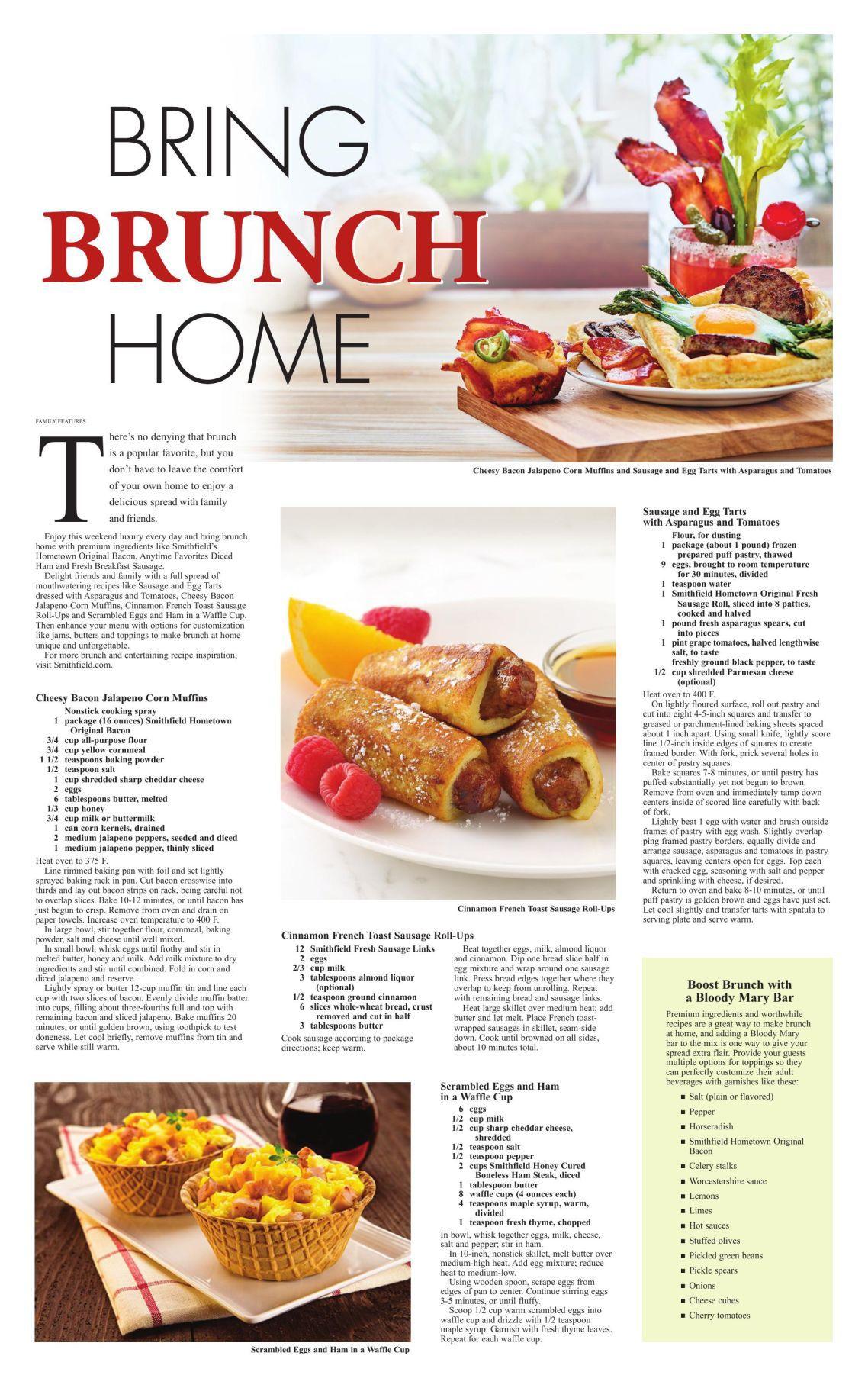 Bring Brunch Home Rapidcityjournal Com
