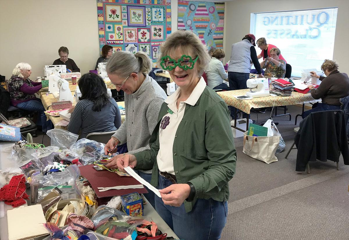 Patchwork Quilts Celebrates World Wide Quilter Day Local