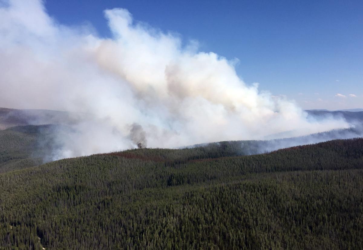 Reynolds Lake Fire on Montana-Idaho border grows to over