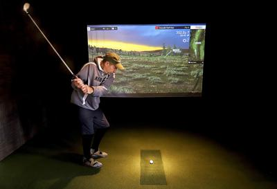 Whitetail Golf Course adds golf simulator for winter play