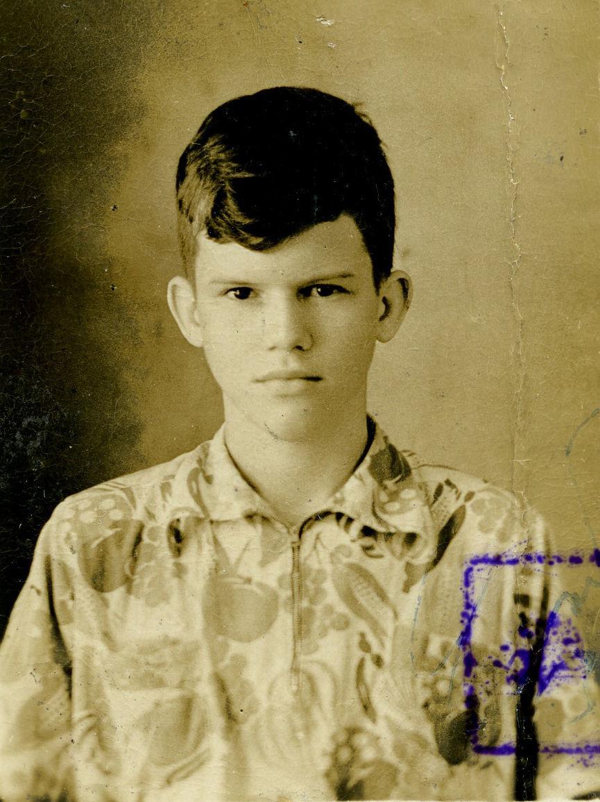 """John """"Mac"""" MacDonald at 14"""