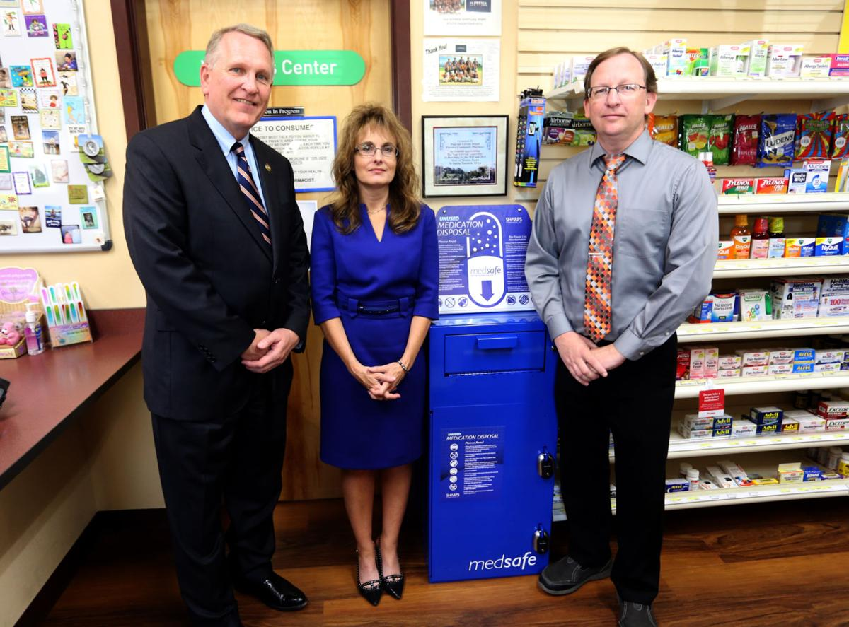 Pharmacy lauded for collecting unwanted medication