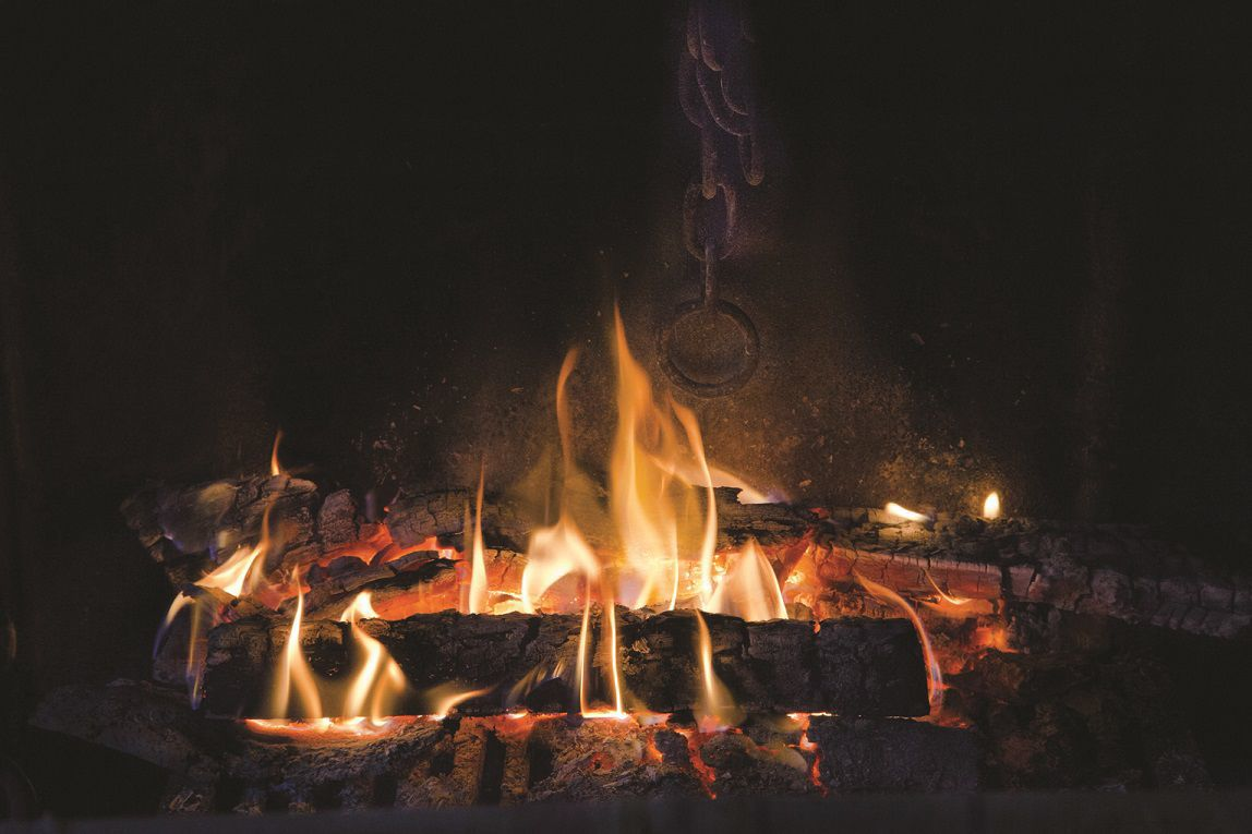 fireplace stock icon