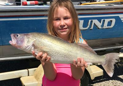 Bailey's big walleye