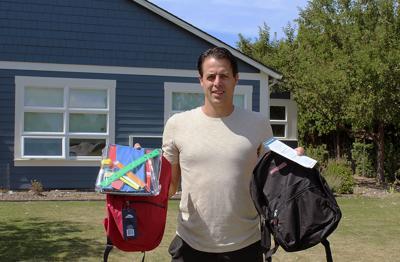 WMMHC Ryan Wetzel and backpacks